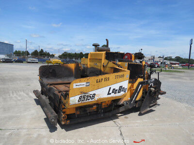 2012 LeeBoy 8515B Asphalt Crawler Paver Cat Diesel 8'-16' Screed Paving Machine