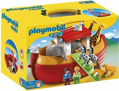 Playmobil 6765 1.2.3 Noahs Ark Playset Great For Creativity New For Gifting