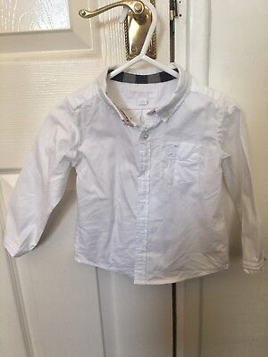 Young Boys Burberry Shirt