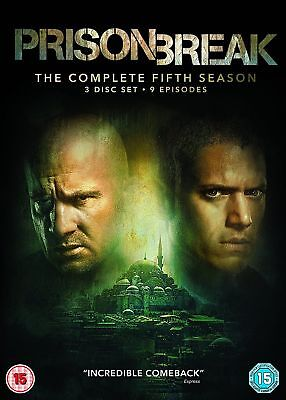 Prison Break Complete Season 5 The Event, Brand New And Sealed Region 2