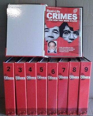Real Life Crimes And How They Were Solved - Complete Bound Set Of Magazines