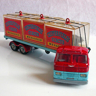 Corgi Major Toys Scammell Chipperfields Käfig Transporter Gt. Britain Sehr Gut !