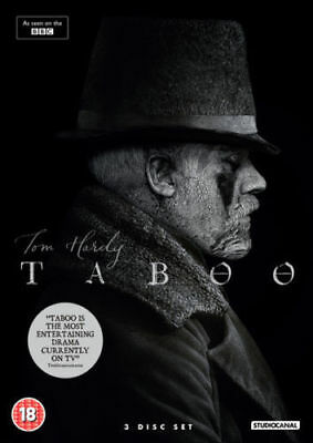 Taboo Complete Season 1 On Dvd, Brand New And Sealed, Region 2 Uk