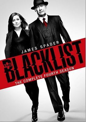 The Blacklist Complete Season 4 Dvd, Brand New And Sealed