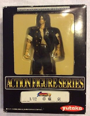 "KYO KUSANAGI ""The King Of Fighters 98"" Action Figure Series In Box! Vintage"