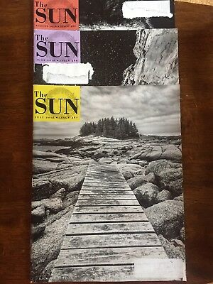The Sun Magazine - 3 Back Issues - June, July & August 2016 - Gorillas, Animals