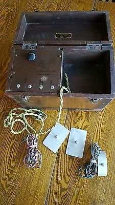 Vintage Medical Electro Therapy  Set ??