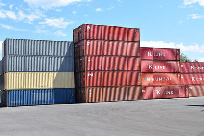 40' High Cube Shipping Container FOR SALE