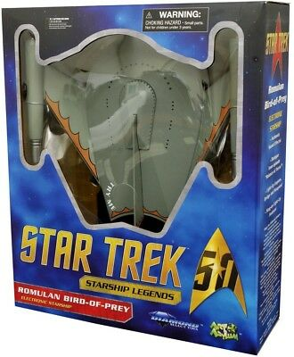 STAR TREK - Romulan Bird-Of-Prey Electronic Starship (Diamond Select) #NEW