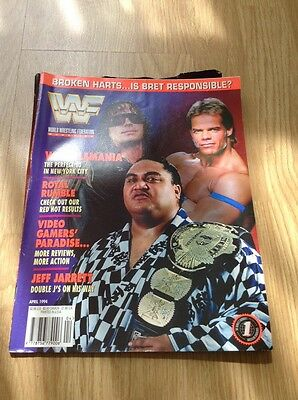 wwf wwe wf world wrestling federation magazine, April 1994