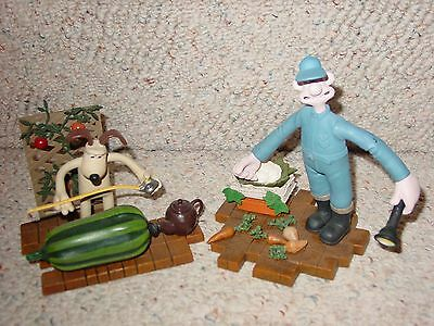 Wallace & Gromit Figures Curse Of The Were Rabbit Very Detailed