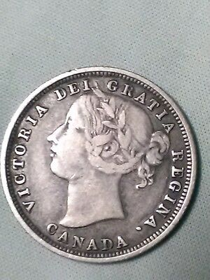 1858 Canadian 20 Cents coin