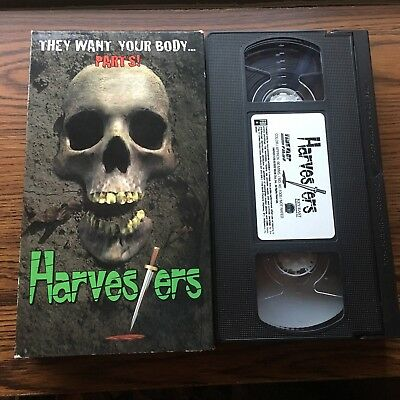 vintage horror vhs movie the knife the night and the slasher big box cad picclick ca. Black Bedroom Furniture Sets. Home Design Ideas
