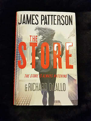 The Store by James Patterson ( 2017, Hardcover ) like new novel book