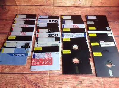 COMMODORE 64 ASSORTED GAMES on Floppy Disk. C64 Games Various Lot Bulk 12