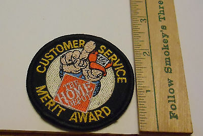 The Home Depot Customer Service Merit Award Collectible Embroidered Patch