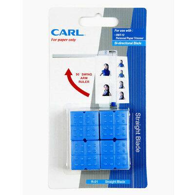 Carl R-01 Spare Blade For RBT-12  (4 pcs) - Trimmer Parts, PA791200