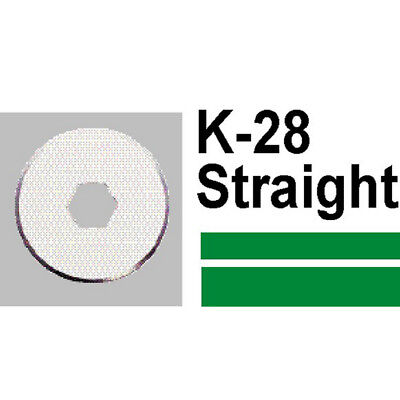 Carl K28 Straight Blade (2 Pieces) - Trimmer Parts, PA799002