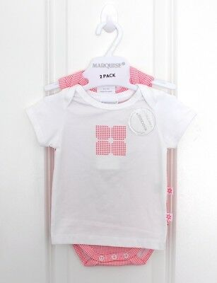 Baby Girl Size 00 #49 - Marquise 2 Pack - Bodysuit & SS Tee (BNWT)