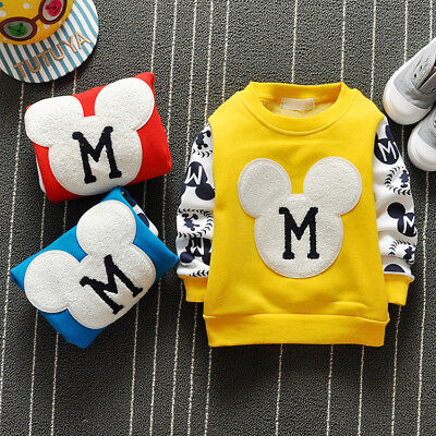 Winter Toddler Infants Baby Boys Girl Clothes Clothing T-shirt Girl Boy T-shirts
