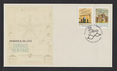 Norfolk Island 2017 : Convict Heritage - First Day Cover. Mint Condition