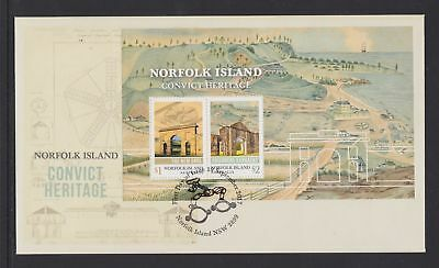 Norfolk Island 2017 : Convict Heritage - First Day Cover with Minisheet