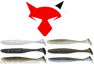 "Jackall Rhythm Wave 3.8"" 5 Pack Select Colors Bass Fishing Lure Bait"