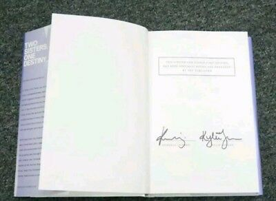 Kendall & Kylie Jenner Dual-Signed Time Of The Twins Book KARDASHIAN AUTHENTIC
