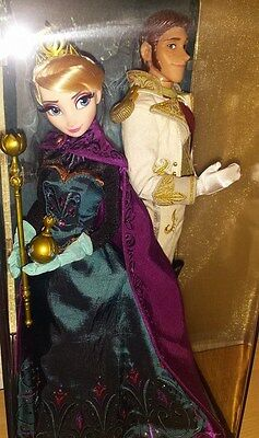 D23 Expo 2015 Disney Heroes and Villains Fairytale Designer Doll Elsa Hans NWT