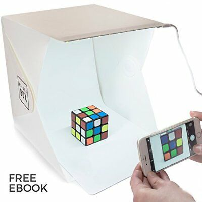 BrightBox Portable Mini Photo Studio With LED Light - The Best Small Folding ...
