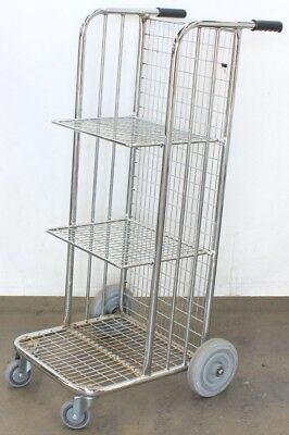 Metal Barristers / Upright File Trolley - Lawyers - legal equipment - ACT / NSW