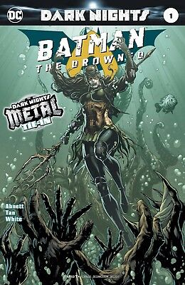 Batman The Drowned 1 1St Print Foil Stamped Cover Metal Tie In Nm