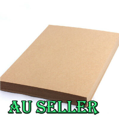 Bulk 100 x 250gsm KRAFT CARDSTOCK Brown Kraft Paper Card Making Premium