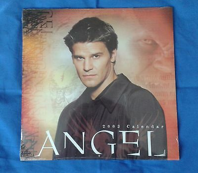 BRAND NEW UNOPENED! Buffy the Vampire Slayer; Angel spin-off 2003 Calendar