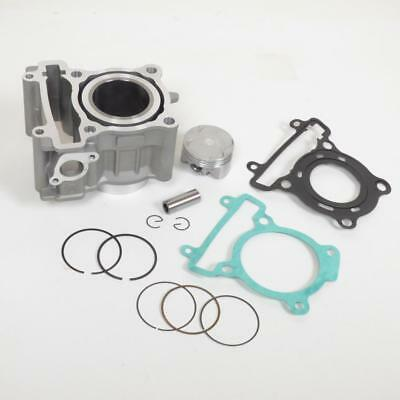 Kit cylindre piston alu Ø52mm scooter Yamaha 125 Xmax neuf à partir de 2008