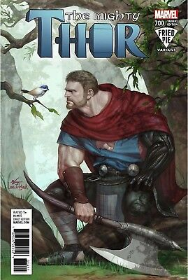 Mighty Thor 700 Inhyuk Lee Fried Pie Variant Nm Legacy Death