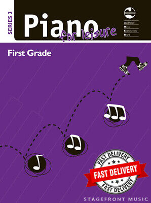 AMEB Piano for Leisure Series 3 - Grade 1 / First Grade  ***BRAND NEW***