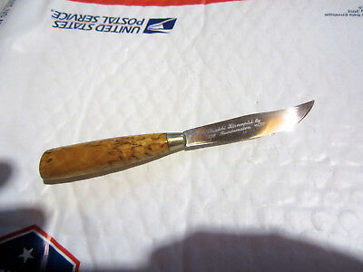 Vintage Tisakki Jarvenpaa Fixed Blade Knife Made In Finland  Great Shape