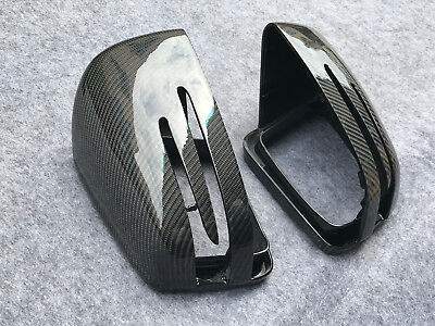 Mercedes Benz AMG W204 CLA GLA W212 W218 W221 Carbon Fibre Wing Mirror Covers