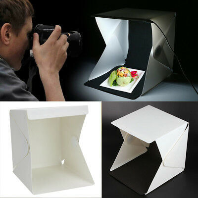 Photo Photography Studio Lighting Portable LED Light Tent Kit Box Folding
