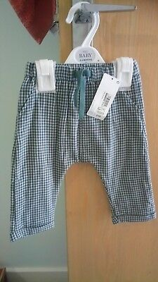 2x pairs boys M&S trousers 6-9 months