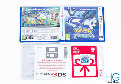 Pokemon: Alpha Sapphire - Nintendo 3DS Handheld Game Console PAL