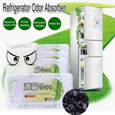Fridge Air Purifier Activated Bamboo Charcoal Refrigerator Deodorant Box Smell