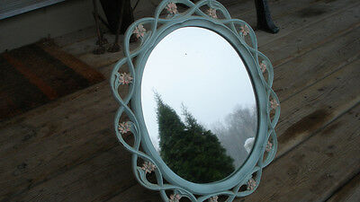 Vintage Syroco Wood mirror