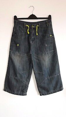 Lovely 3/4 Length Cropped Cargo Jeans from Urban Outlaws - Age 12-13yrs - BNWOT!