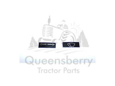 Duncan cab wiper and indicator decal stickers John Deere Massey Ferguson Ford