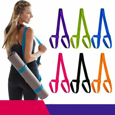 Convenient Yoga Mat Sling Carrier Shoulder Carry Strap Belt Assistant Tool CU