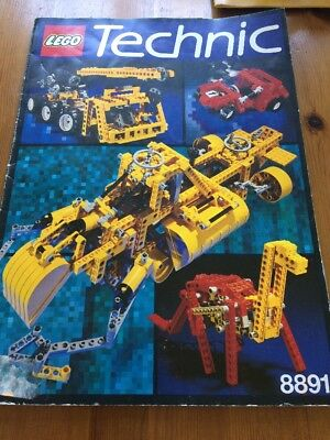 Lego Technic Book 8891