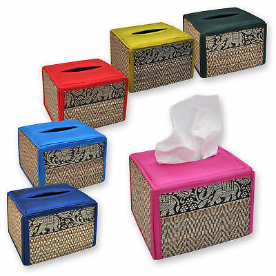 Tissue box cover Square handkerchiefs, paper towels, wipes, import Thailand