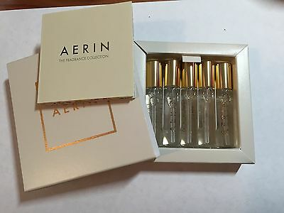 5PC Aerin EDP Amber Musk/Ikat Jasmine/Iris Meadow/Evening Rose/Waterlily Sun NIB